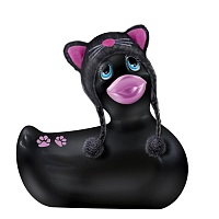 Вибратор утенок I Rub My Duckie HOODIE KITTY BLACK