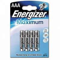 Батарейка Energizer Maximum (AAA) 4БЛ