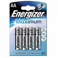 Батарейка Energizer Maximum (AA) 4БЛ